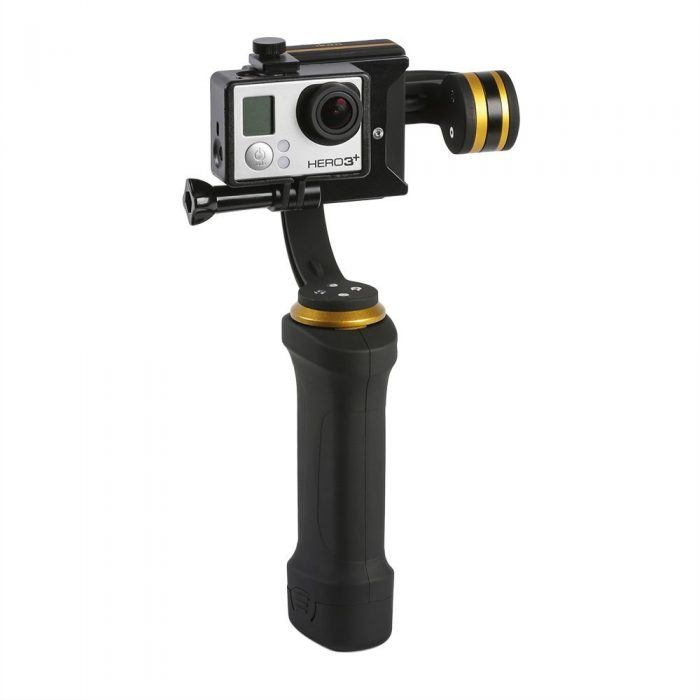 IKAN Fly X3 plus gimbal with a gopro