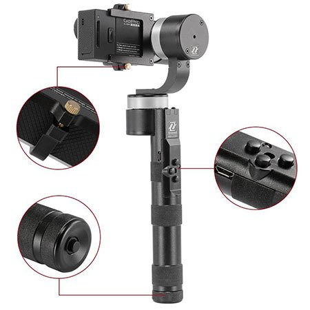 Zhiyun Z1 pro go-pro gimbal with accessories