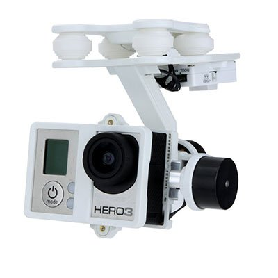 Walkera G-2D with a gopro hero 3