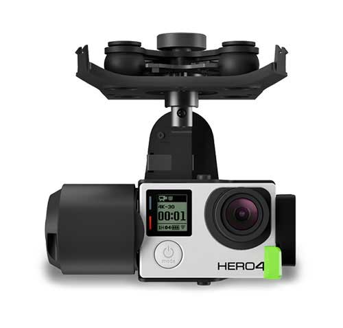 3DR Drone gimbal with gopro hero 4