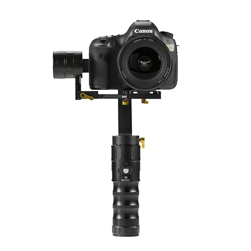 Ikan EC1 gimbal with a camera
