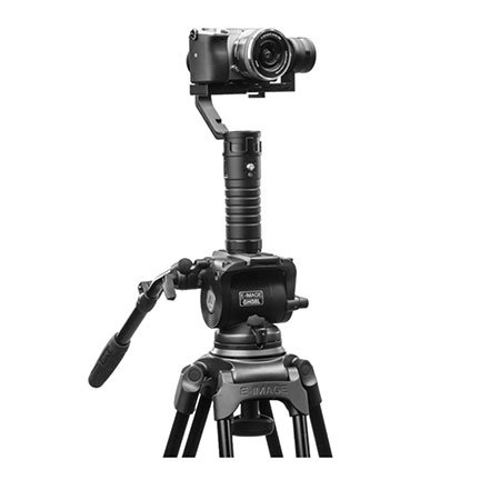 Ikan MS1 stabilizer mounted on a tripod