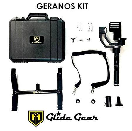 Glide gear geranos carrying case and accessories