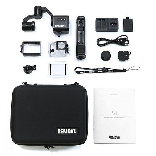 items in removu's s1 gimbal package