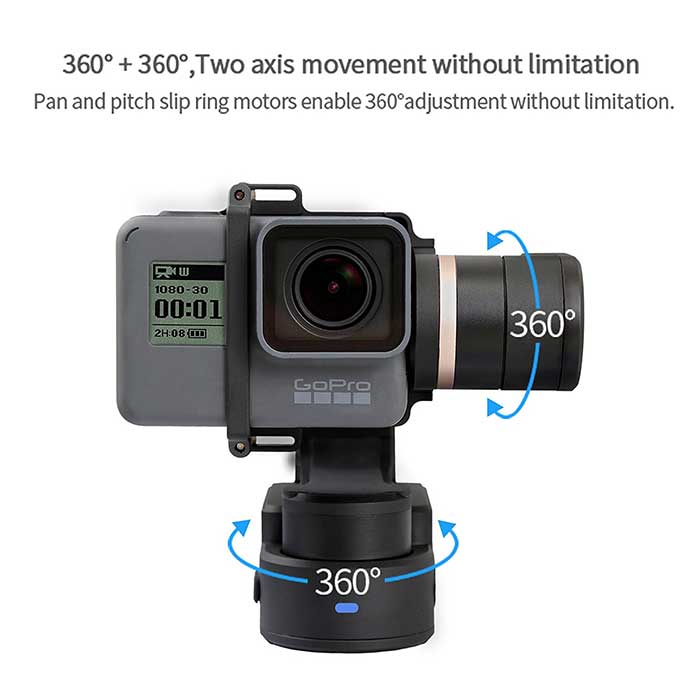 Neewer Motorized Panoramic Head Tripod Head Compatible with GoPro SJCAM Action Camera DJI Pocket Camera iPhone Samsung Smartphone Rechargeable//360 Degree Rotation//Remote Control//Time Lapse Shot
